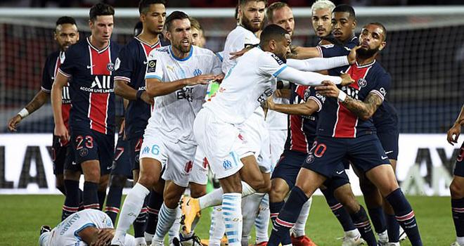 Căng thẳng dâng cao ở Marseille trước sự xuất hiện của PSG