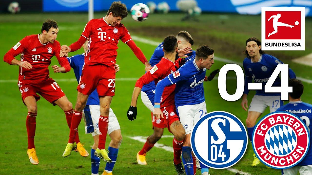 Schalke thua 0-4 trên sân nhà trước FC Bayern