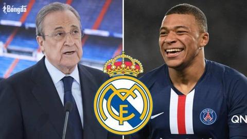 """Chủ tịch Real Madrid lên kế hoạch """"cứu"""" Mbappe trong tháng 1"""