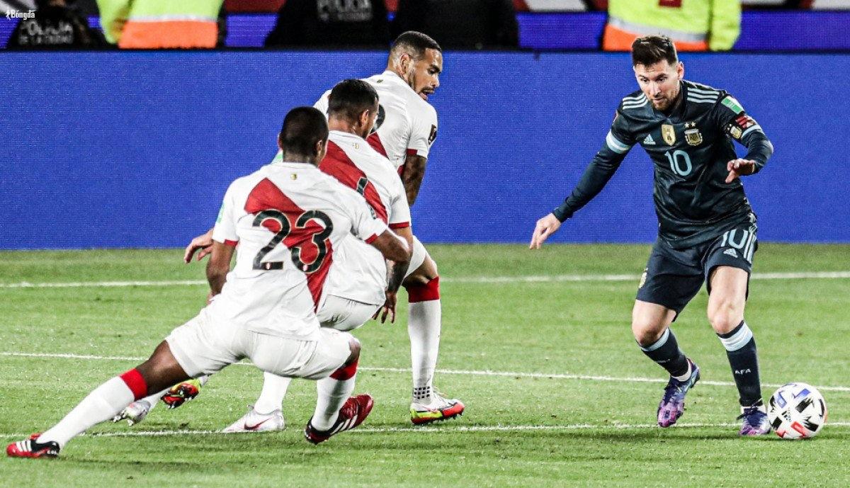 Kết quả Argentina 1-0 Peru: Messi im tiếng, Lautaro Martinez lấy 3 điểm khó khăn