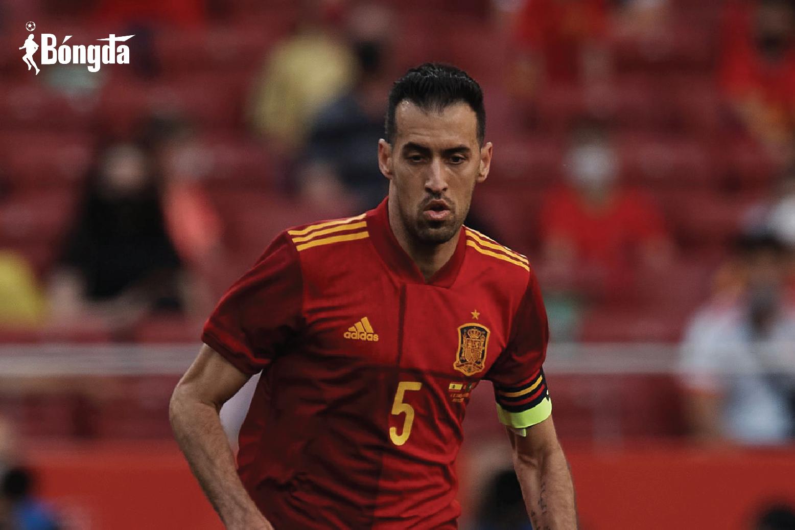 EURO 2020: Mắc Covid-19, Sergio Busquets khiến ĐT Tây Ban Nha lao đao