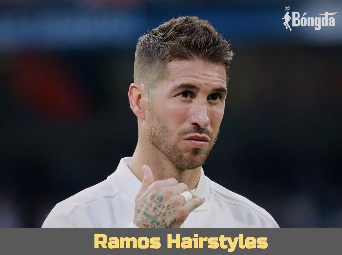"""Các kiểu tóc làm nên thương hiệu """"soái ca"""" của Ramos"""