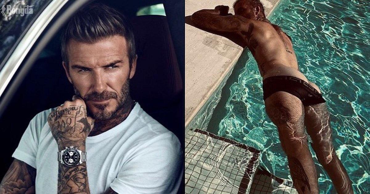 David Beckham gây sốt với thân hình nóng bỏng dù bước qua tuổi 46