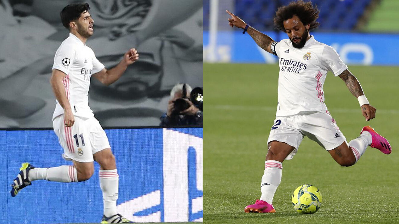 HLV Zidane phải chọn Asensio hay Marcelo cho trận bán kết giữa Real Madrid và Chelsea