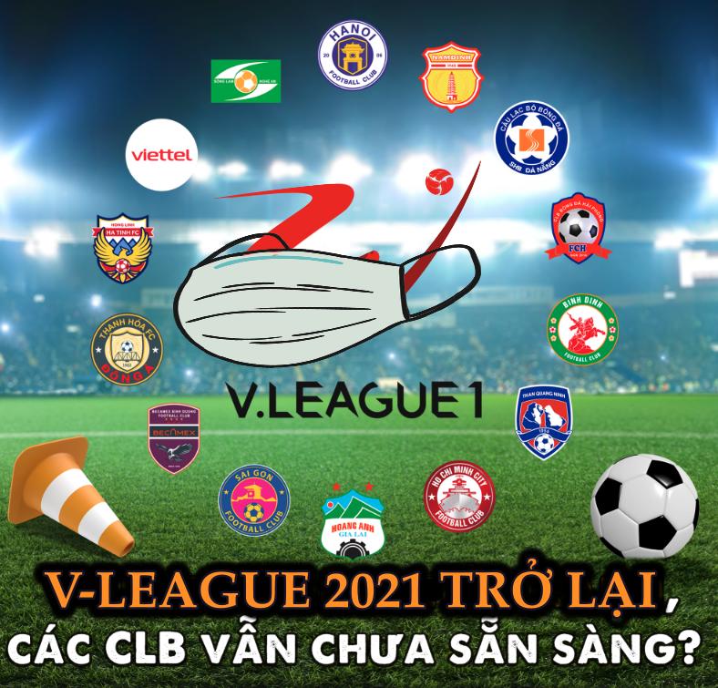 V-League 2021 trở lại cùng nhiều quy định khắt khe