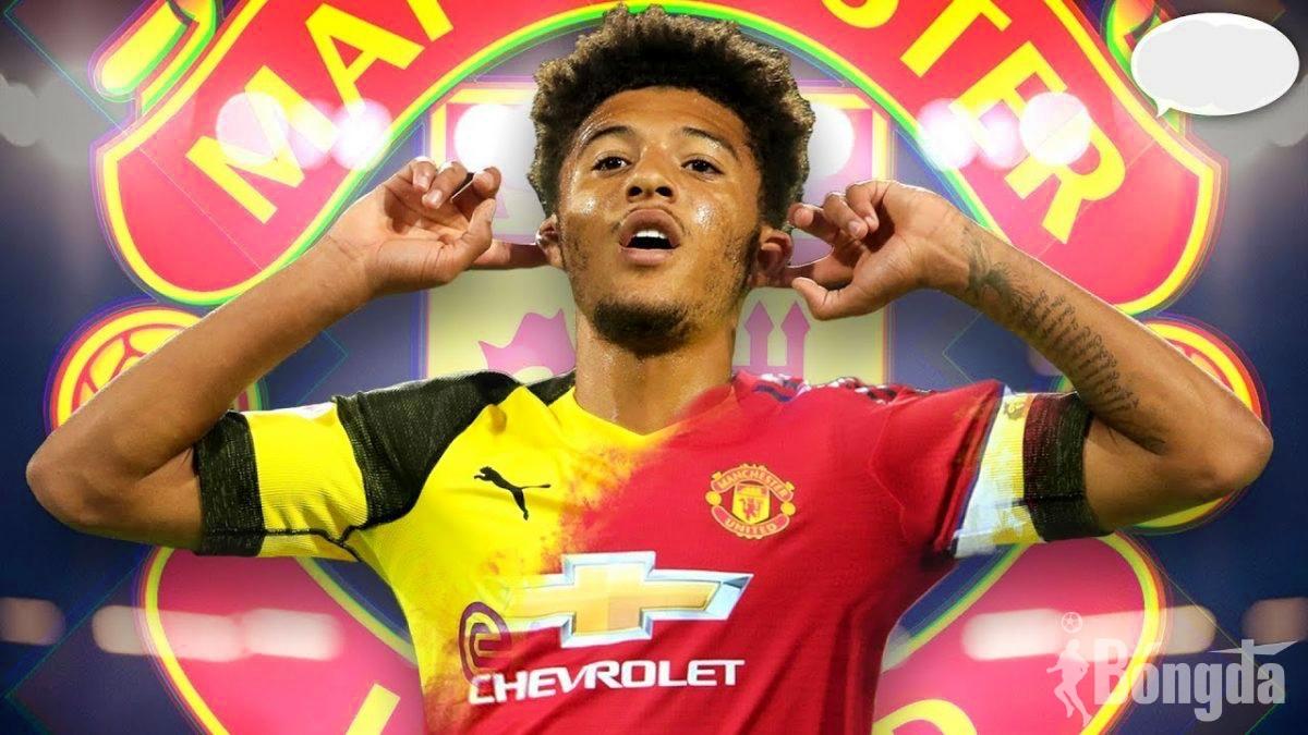 Chuyển nhượng Ngoại hạng Anh: Phát chán với tin đồn xung quanh thương vụ Manchester United - Jadon Sancho