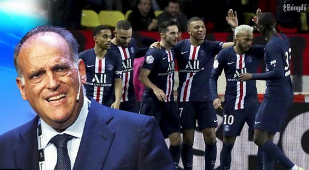 Chủ tịch La Liga gây hấn PSG và Ligue 1 chỉ vì Messi ?
