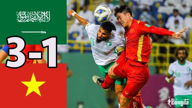 Saudi Arabia 3-1 Việt Nam: Quang Hải lập siêu phẩm, chủ nhà gặp may nhờ thẻ đỏ