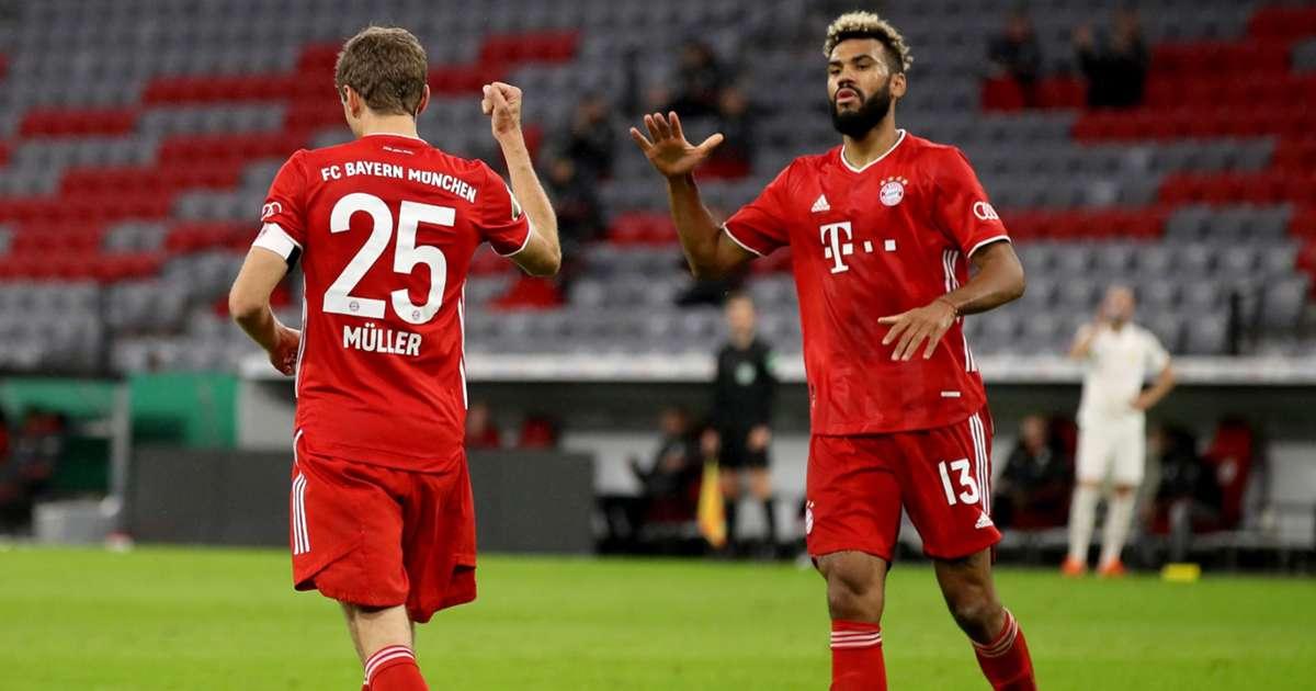 Duren 0-3 Bayern Munich: Tiền đạo Eric Maxim Choupo-Moting lập cú đúp và bàn thắng của Thomas Muller ấn định chiến thắng, Bayern tiến vào vòng 2 cúp Quốc gia