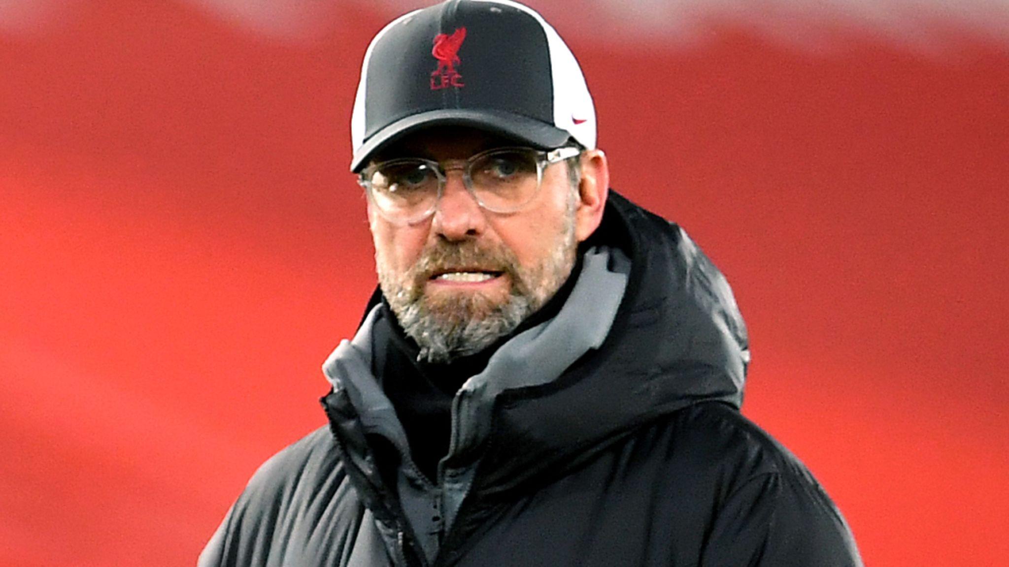 """HLV Jurgen Klopp đổ lỗi cho """"mệt mỏi tinh thần"""" của Liverpool trong trận thua trước Brighton"""