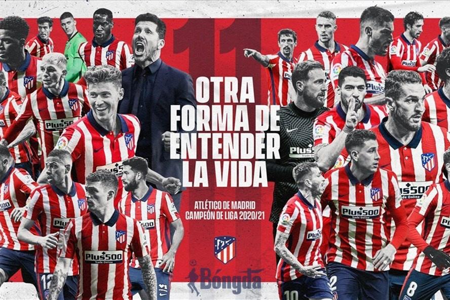 Tổng hợp mùa giải La Liga 2020/21: Atletico xưng vương, Messi giành Pichichi
