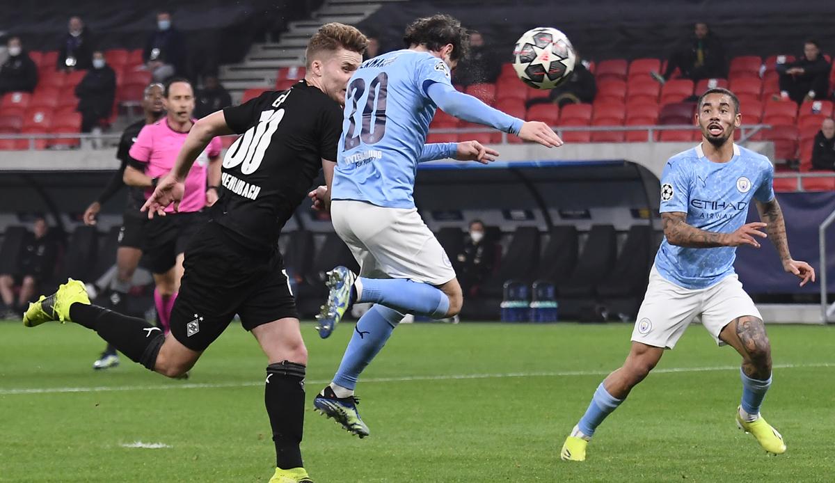 Kết quả Champions League: Gladbach thất bại 0-2 trước đội bóng của Pep Guardiola Man City