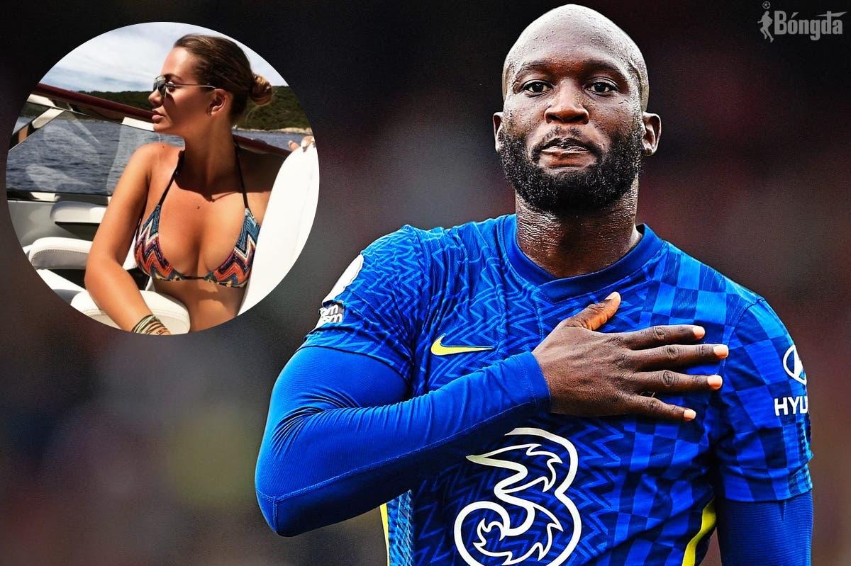 """Lukaku và bạn gái cũ Sarah Mens """"đường ai nấy đi"""" sau khi gia nhập Chelsea"""