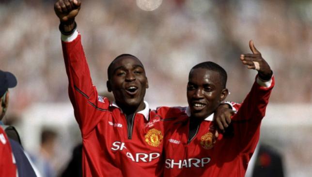 """Bộ đôi Andy Cole và Dwight Yorke giành """"ngôi á quân"""" trong Top cặp đôi tấn công hàng đầu tại Premier League"""