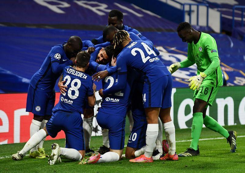 Chelsea lần đầu tiên lọt vào tứ kết Champions League sau bảy mùa giải.