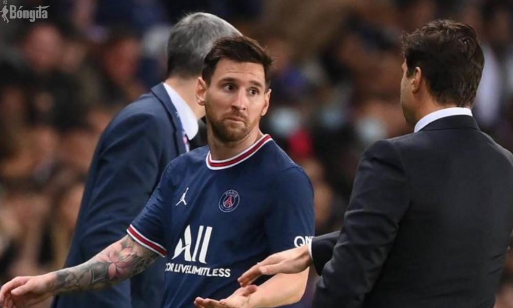 Lionel Messi ngồi ngoài trận tiếp theo của PSG vì dính chấn thương