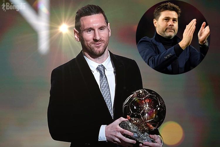 Ngoài Sergio Ramos, HLV PSG đều tin Messi sẽ đoạt Quả Bóng Vàng