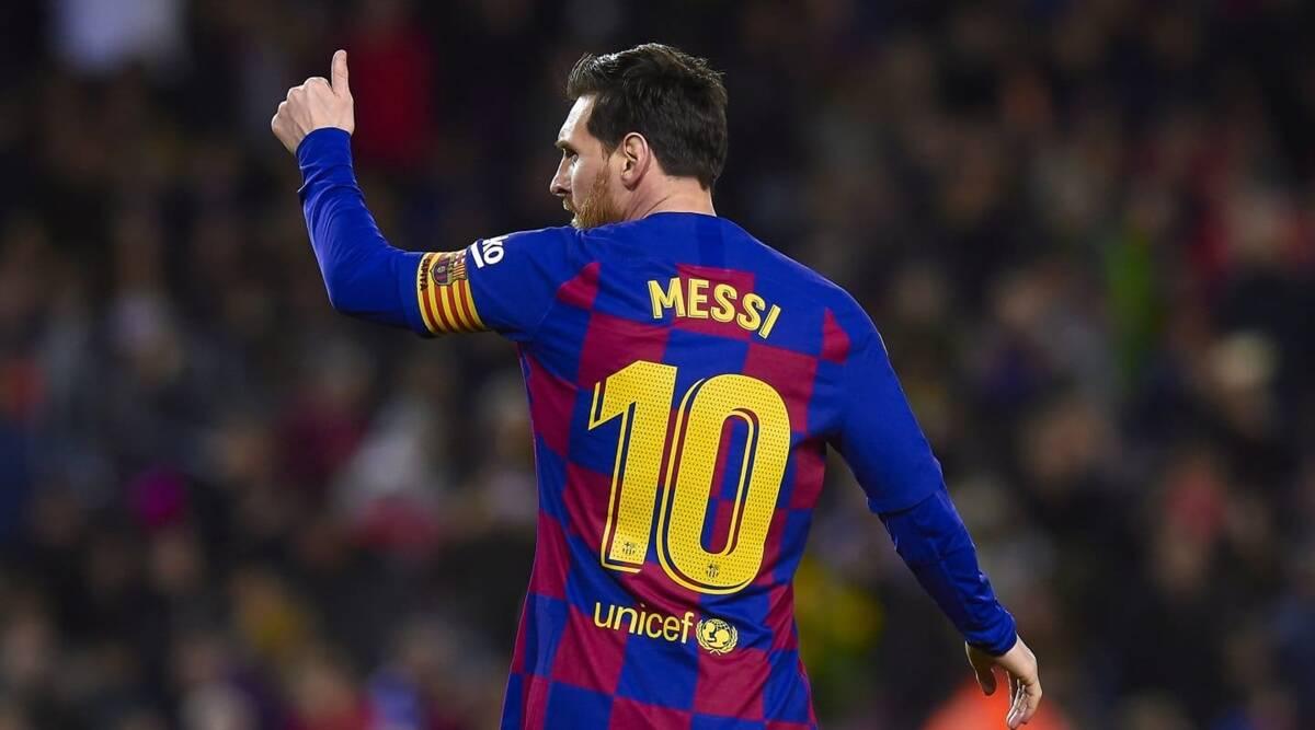 Messi đứng ở vị trí số 7 trong Top 10 cầu thủ ghi bàn nhiều nhất