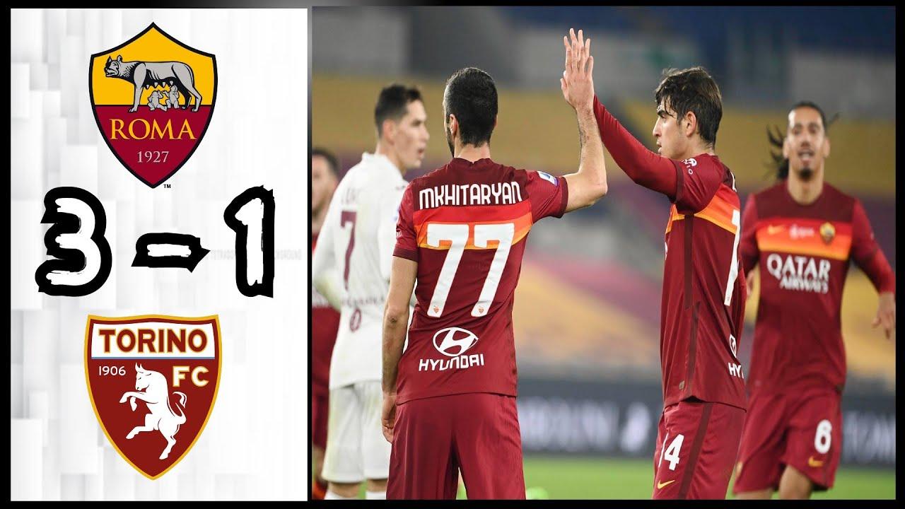 AS Roma bằng điểm với nhà vô địch Juventus sau khi đánh bại đội bóng 10 người Torino