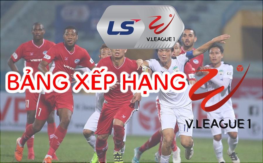 Bảng Xếp Hạng V-League 2021 Sau Vòng 1