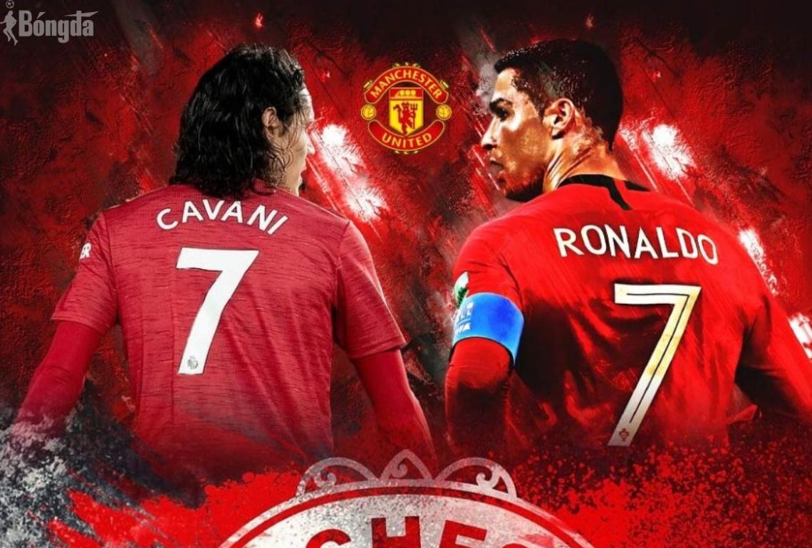 Loại Cavani, Man Utd điền tên Ronaldo ở trận đầu Champions League
