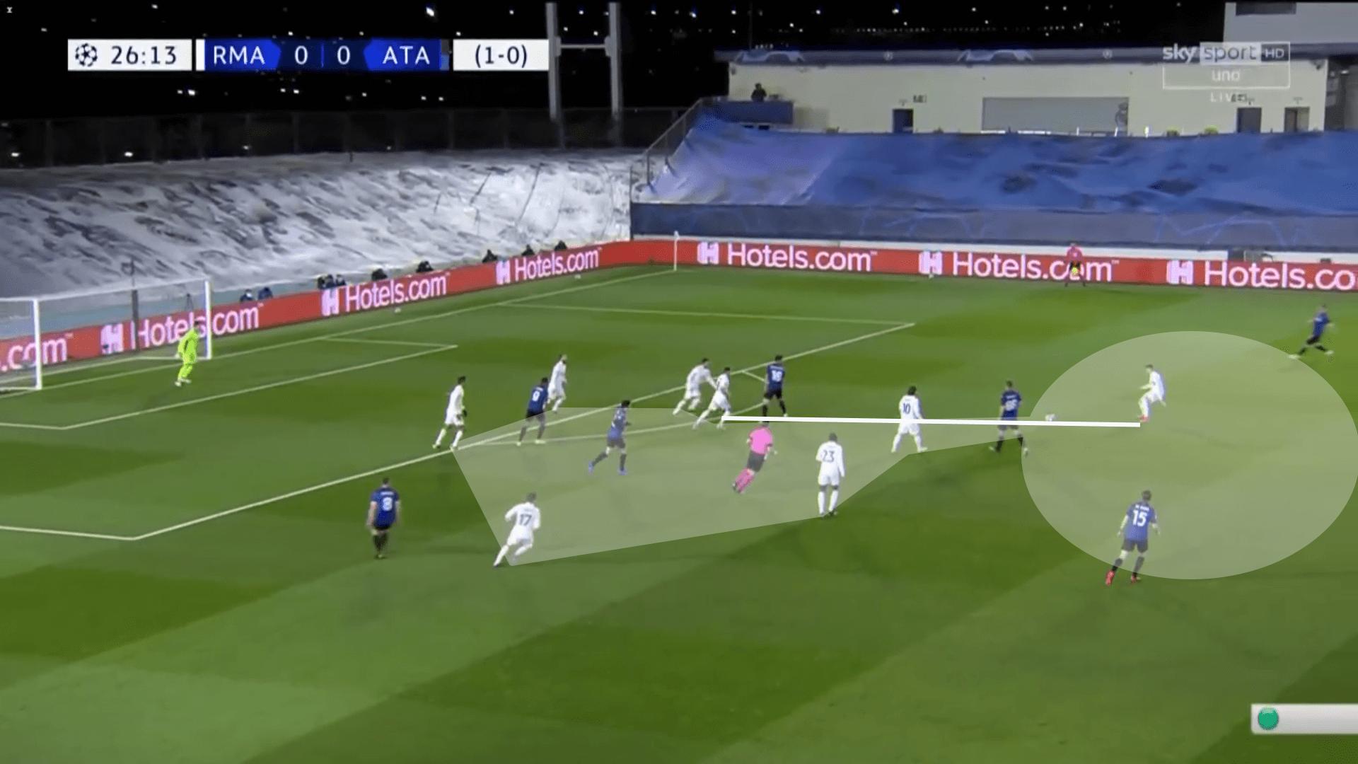 Real Madrid: Góc nhìn chiến thuật trong trận đấu lượt về với Atalanta tại Champions League (P2)