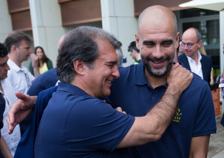HLV Jordi Cruyff là mục tiêu tiếp theo trong kế hoạch của tân chủ tịch Barcelona