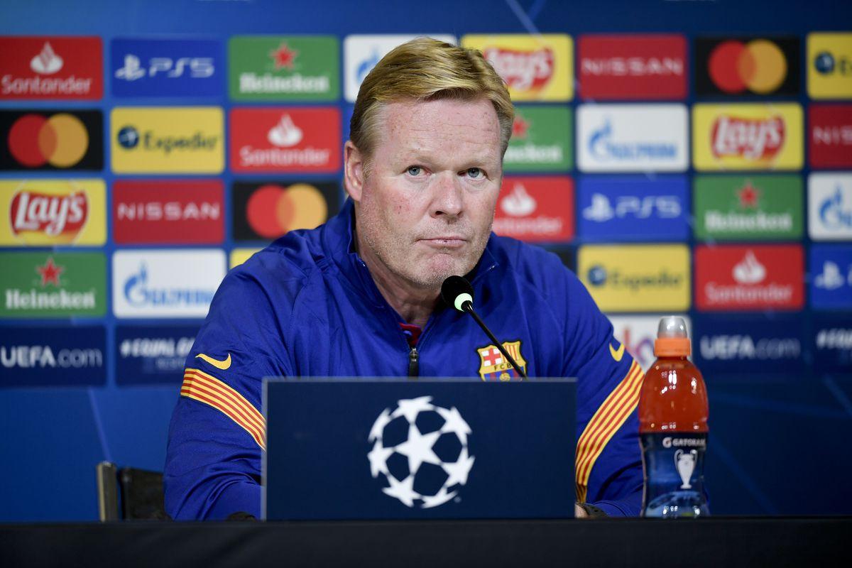 HLV Koeman của Barca sẽ không bỏ cuộc sau thất bại trước PSG