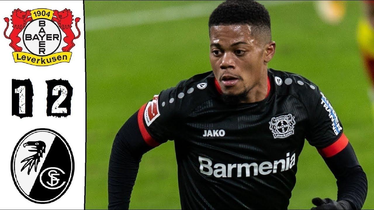 Leverkusen tiếp tục sa sút trong trận thua 1-2 trên sân nhà trước Freiburg