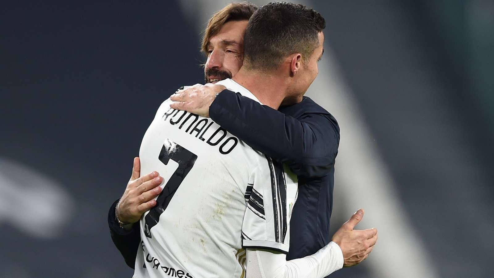 Pirlo đưa ra lời giải thích trước quyết định để Ronaldo vào sân vỏn vẹn hai mươi phút trong chiến thắng của Juventus trước Lazio