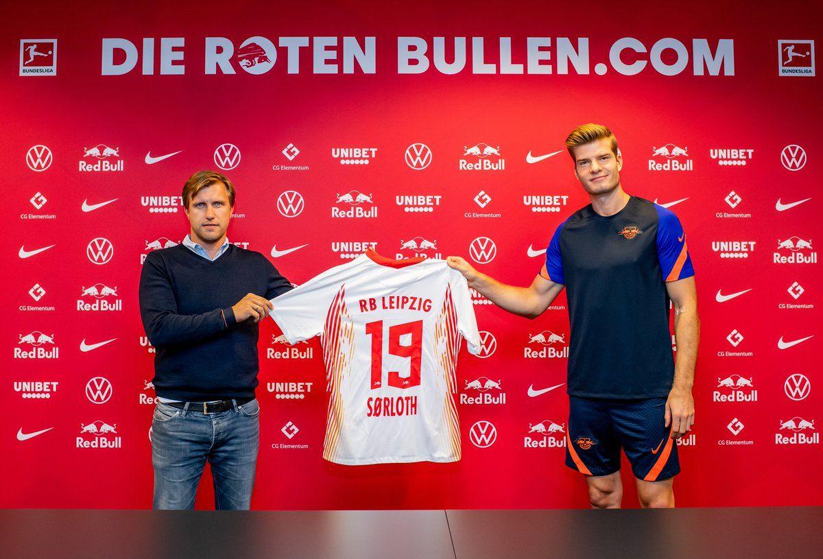 Leipzig chiêu mộ thành công tiền đạo người Na Uy Sorloth để thay thế Werner