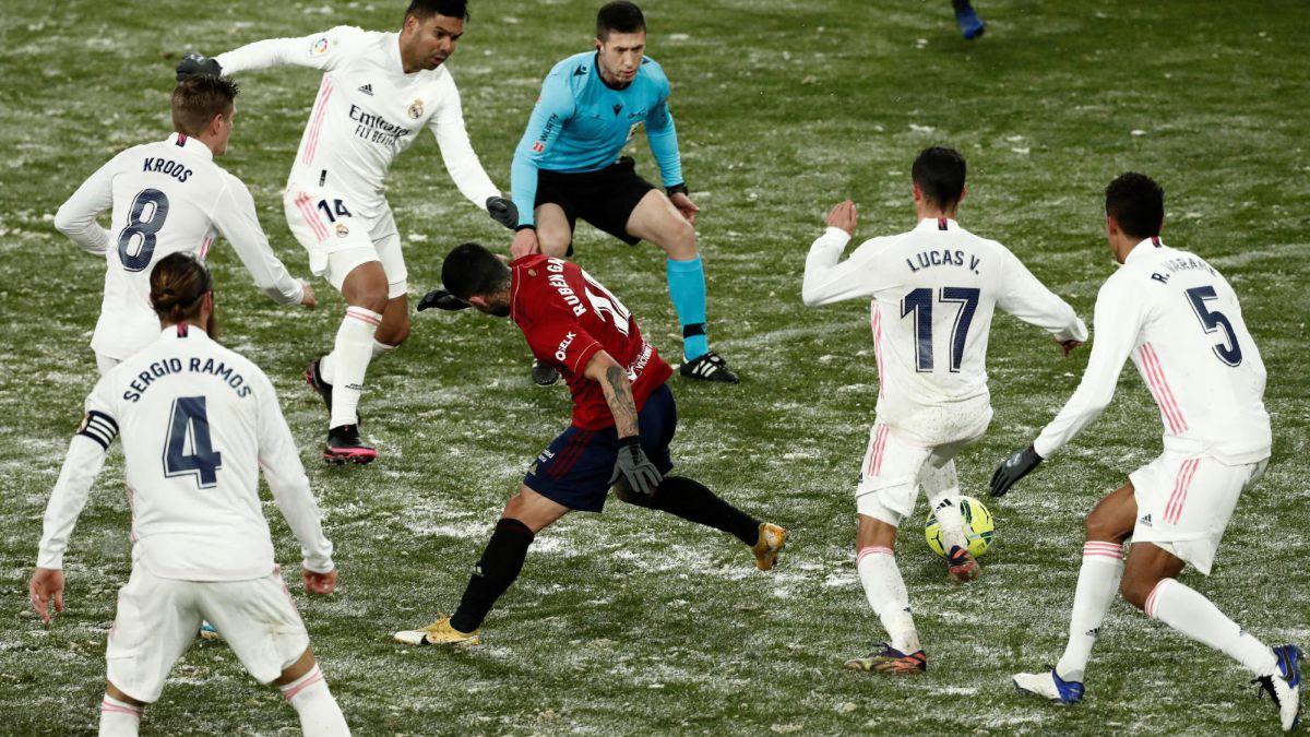 Đội hình của HLV Zidane chào đón sự trở lại của Hazard và Ramos trong trận đối đầu với Osasuna