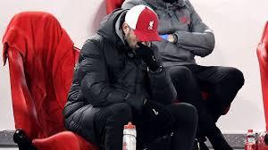"""HLV Klopp của Liverpool """"không thể tưởng tượng được cuộc đua danh hiệu"""" sau trận thua Burnley"""