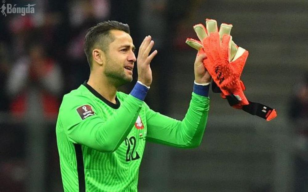 Lukasz Fabianski chia tay đội tuyển Ba Lan sau thắng lợi 5-0 trước San Marino