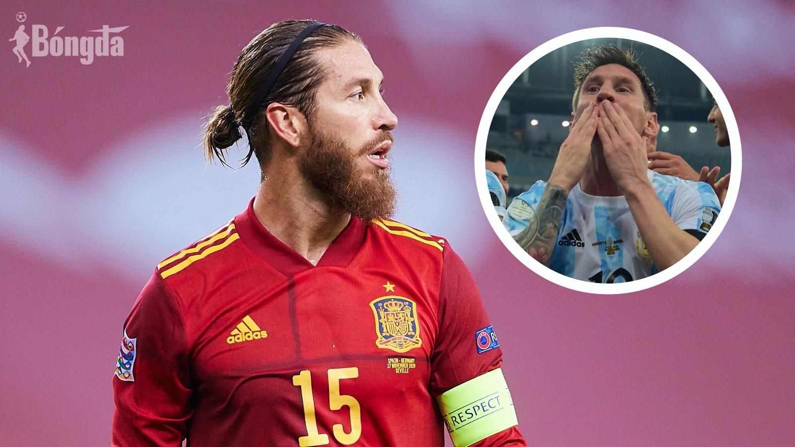 """Mơ về chung một nhà, Sergio Ramos ra sức """"tán tỉnh"""" Lionel Messi đầu quân cho PSG"""