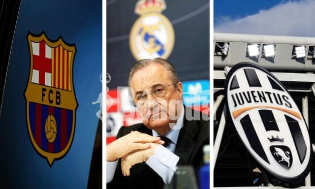 """Juventus, Barcelona và Real Madrid bị UEFA """"sờ gáy"""" sau thất bại của Super League"""