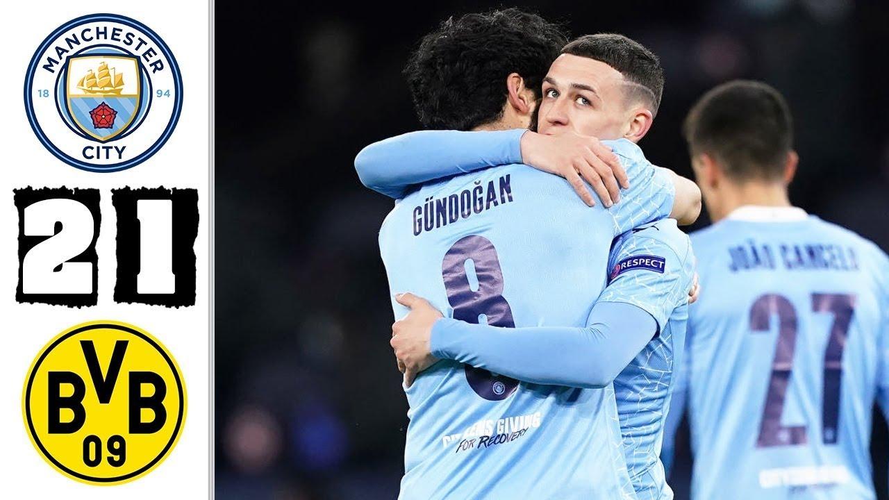 Man City 2-1 Dortmund: Foden ghi bàn thắng muộn, kịch tính đến phút cuối cùng