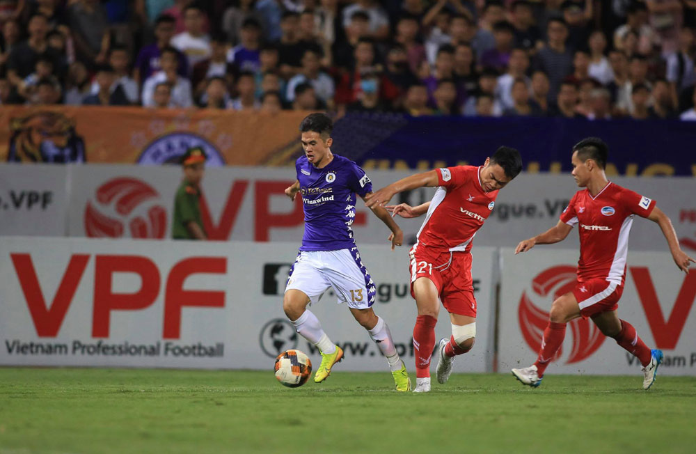 """Trận """"chung kết sớm"""" quyết đấu giành ngôi vương V-League 2020 của CLB Viettel và Hà Nội FC"""