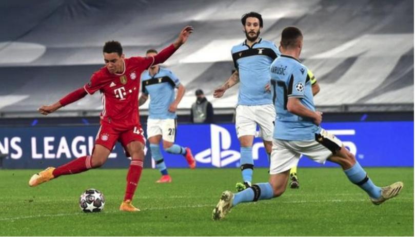 Bayern Munich vs Lazio : Musiala trở thành cầu thủ quốc tịch Anh trẻ nhất ghi bàn tại đấu trường C1