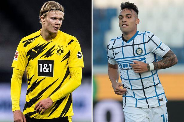 """Lautaro Martinez, Erling Haaland nằm trong """"Danh sách TOP mong muốn của Manchester City"""""""