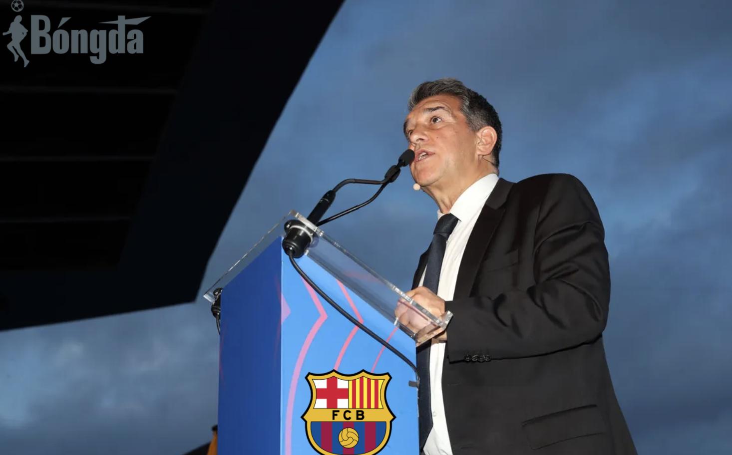 Tân chủ tịch Barcelona thúc giục Messi ở lại và ủng hộ HLV Koeman tại lễ nhậm chức