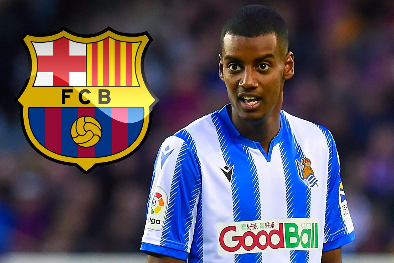 "Barcelona ""để mắt"" đến Isak của Real Sociedad"