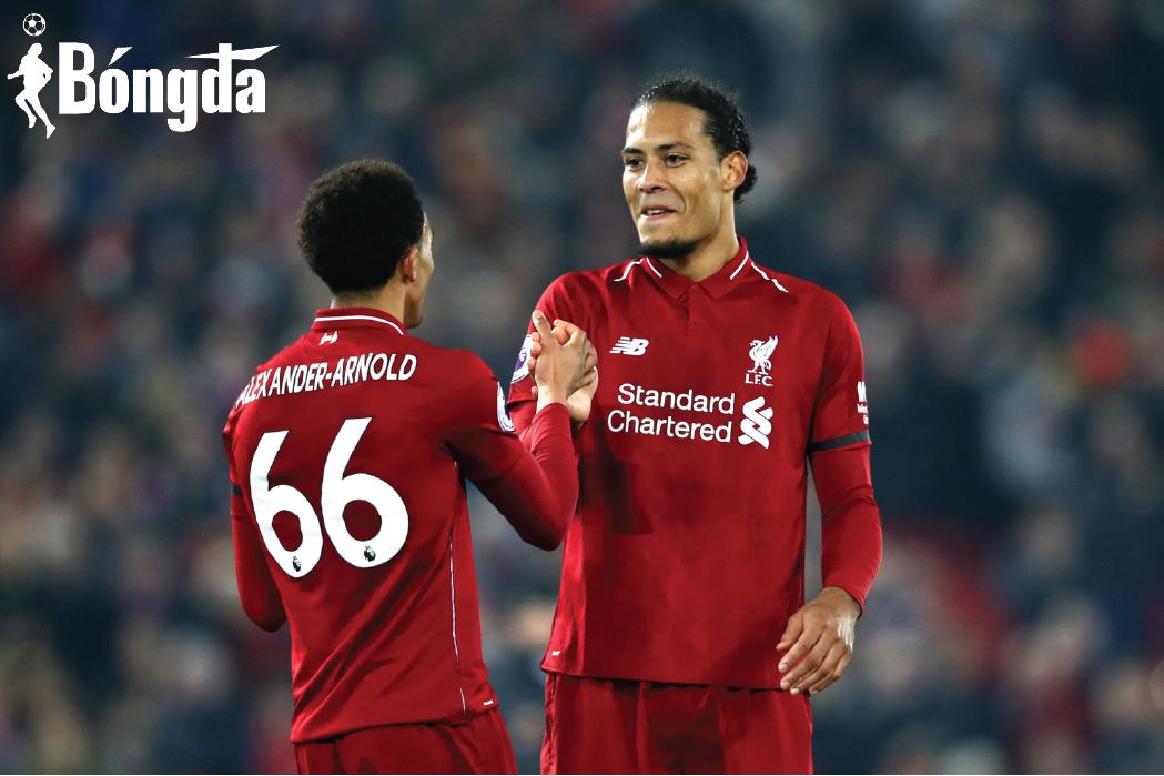 Alexander-Arnold và Van Dijk trở lại, Liverpool sẵn sàng thống trị Premier League?