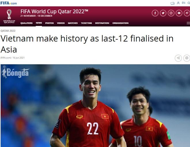 TIN HOT: FIFA ca ngợi chiến tích tuyển Việt Nam, dành lời khen cho Tiến Linh
