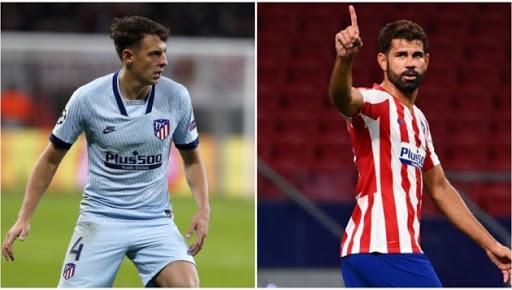 Diego Costa và Santiago của Atletico Madrid dương tính với COVID-19