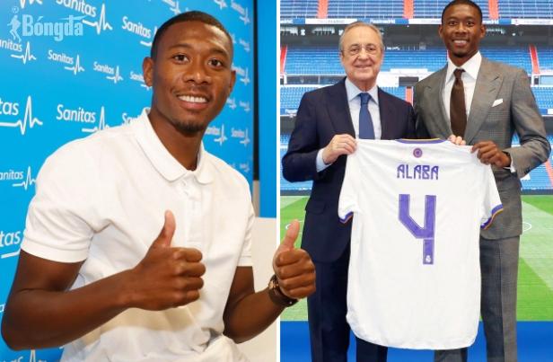 """Khoác áo số 4 tại Real Madrid, David Alaba là """"bản sao"""" hoàn hảo của Sergio Ramos?"""