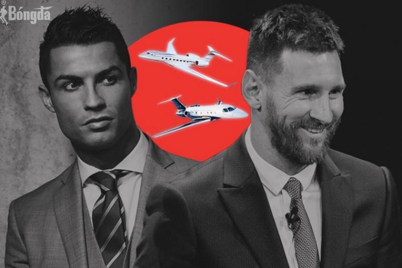 Vượt mặt Neymar và Messi, Ronaldo tậu 2 máy bay tư nhân triệu đô