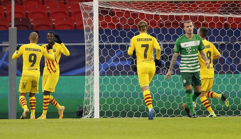 Barcelona thắng dễ dàng trước Ferencvaros