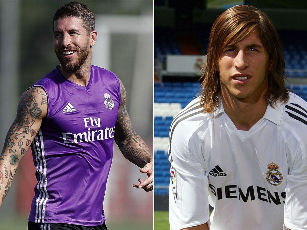 Sự chuyển đổi hình thể đáng kinh ngạc của Sergio Ramos
