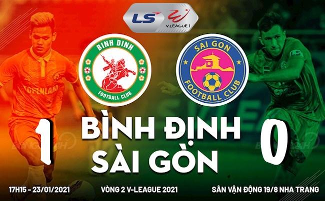 Sài Gòn vs Bình Định: Chiến thắng bất ngờ